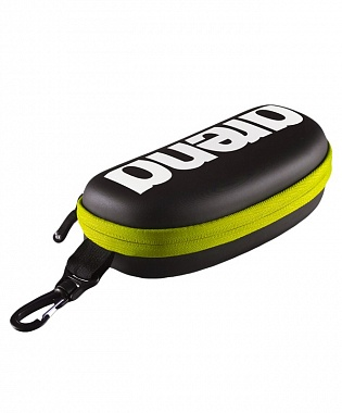 Купить Чехол для очков Arena Goggle Case Black/Silver/Fluo Yellow (1E048 503),