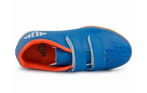 Бутсы футбольные AS4 Furia indoor Velcro 201A10 blue / red (28-34)