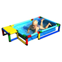Бассейн маленький 145x85x25 см Quadro Pool small 10960