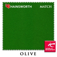 Сукно Hainsworth Match Snooker 195см Olive