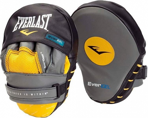 Лапы изогнутые Everlast Leather Evergel Mantis 410001GLU